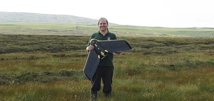 UAV photo courtesy of the Yorkshire Peat Partnership
